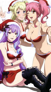 Christmas anime 2017.Samsung Galaxy S4 wallpaper 1080x1920