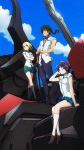 Kuromukuro Kennosuke Tokisada Ouma Yukina Shirahane Sophie Noel.HTC One wallpaper 1080x1920