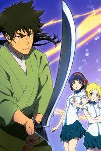 Kuromukuro Kennosuke Tokisada Ouma Yukina Shirahane Sophie Noel.iPhone 4 wallpaper 640x960