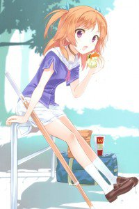 OreShura Chiwa Harusaki.iPhone 4 wallpaper 640x960
