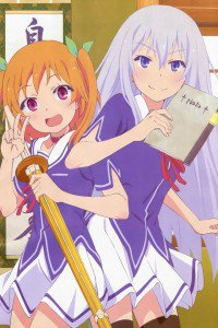 OreShura Masuzu Natsukawa Chiwa Harusaki.iPod 4 wallpaper 640x960