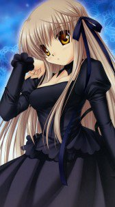 Rewrite Akane Senri.Sony Xperia Z wallpaper 1080x1920