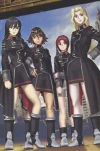 SoltyRei Integra Martel Sylvia Ban Celica Yayoi Accela Warrick.iPhone 4 wallpaper 640x960