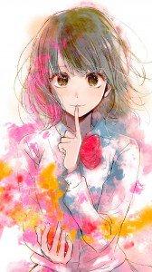 Kuzu no Honkai Hanabi Yasuraoka.Acer CloudMobile wallpaper 720x1280