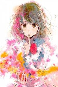 Kuzu no Honkai Hanabi Yasuraoka.iPod 4 wallpaper 640x960