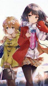 Masamune-kun no Revenge Aki Adagaki Yoshino Koiwai.HTC One wallpaper 1080x1920