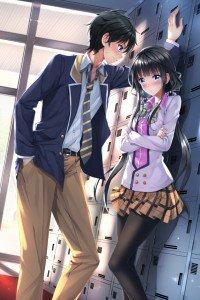 Masamune-kun no Revenge Masamune Makabe Aki Adagaki.iPhone 4 wallpaper 640x960