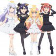 Gabriel, Vigne, Satania and Raphi smartphone wallpapers. Gabriel DropOut android wallpapers 2160x1920 Gabriel DropOut full HD wallpapers 1080x1920 Gabriel DropOut android wallpapers 2160x1920 1080x1920 Gabriel DropOut mobile phone wallpapers Gabriel...
