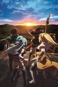 KonoSuba Aqua Darkness Kazuma Sato Megumin.iPhone 4 wallpaper 640x960