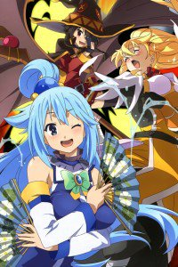 KonoSuba Aqua Darkness Megumin.iPhone 4 wallpaper 640x960