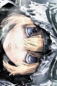 Youjo Senki Tanya von Degurechaff.iPhone 4 wallpaper 640x960