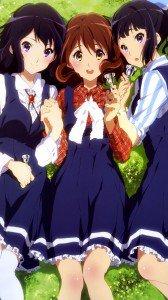 Hibike Euphonium Kumiko Oumae Reina Kousaka Azusa Sasaki.Samsung Galaxy Note 3 wallpaper 1080x1920