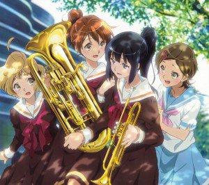 Hibike Euphonium Kumiko Oumae Reina Kousaka Hazuki Katou Sapphire Kawashima.Android wallpaper 2160x1920