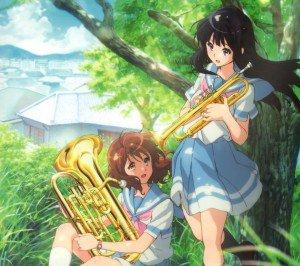 Hibike Euphonium Kumiko Oumae Reina Kousaka.Android wallpaper 2160x1920
