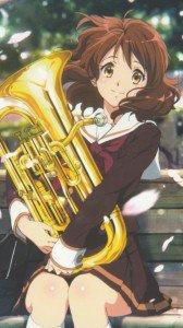 Hibike Euphonium Kumiko Oumae.Sony Xperia Z wallpaper 1080x1920