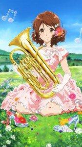 Hibike Euphonium Kumiko Oumae.iPhone 7 Plus wallpaper 1080x1920