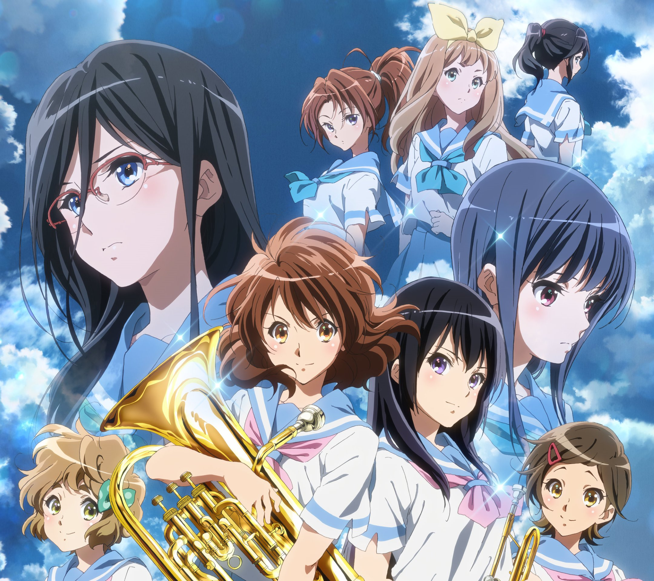 Hibike Euphonium.Android wallpaper 2160x1920