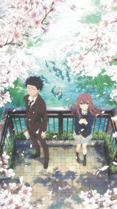 Koe no Katachi Shouya Ishida Shouko Nishimiya.iPhone 6 Plus wallpaper 1080x1920