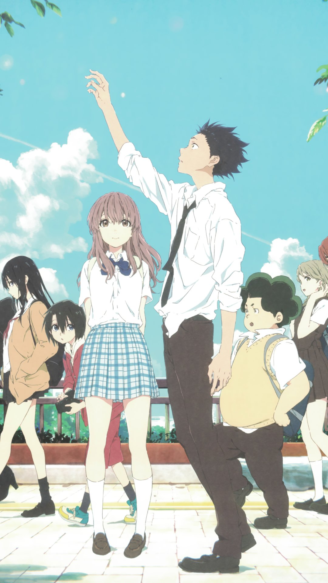 Image result for a silent voice wallpaper