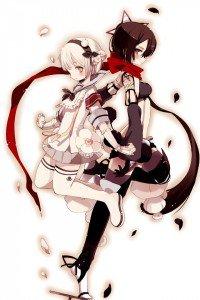Mahou Shoujo Ikusei Keikaku Snow White Ripple.iPhone 4 wallpaper 640x960