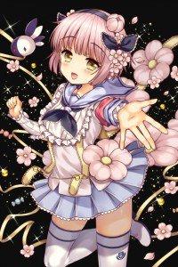 Mahou Shoujo Ikusei Keikaku Snow White.iPhone 4 wallpaper 640x960 (2)