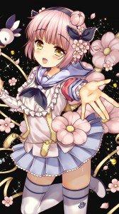 Mahou Shoujo Ikusei Keikaku Snow White.iPhone 6 Plus wallpaper 1080x1920