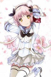 Mahou Shoujo Ikusei Keikaku Snow White.iPod 4 wallpaper 640x960