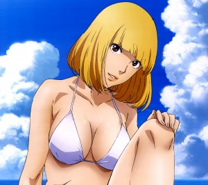Prison School Hana Midorikawa.Android wallpaper 2160x1920
