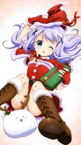 Gochuumon wa Usagi Desu ka Christmas 1080x1920