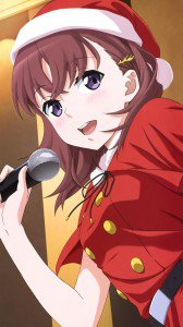 Just Because Mio Natsumi Christmas 1080x1920