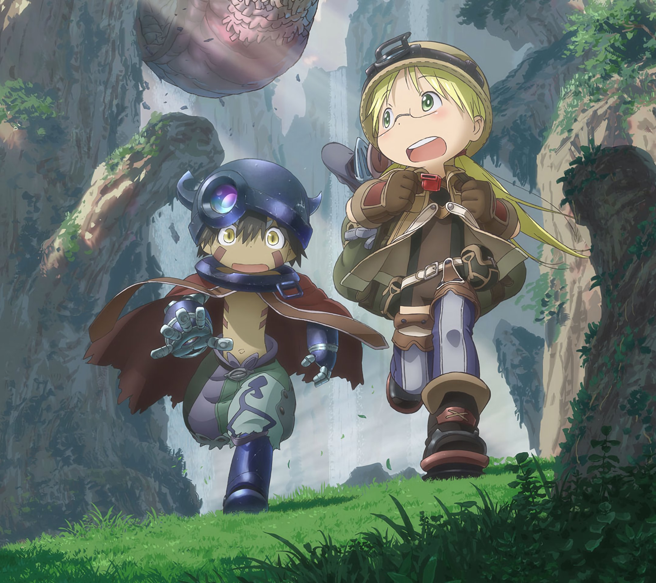 Made in Abyss Riko and Reg.Android wallpaper 2160x1920