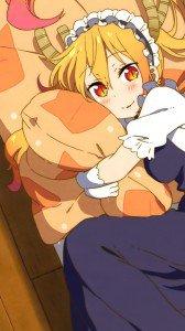 Kobayashi-san Chi no Maid Dragon Tohru 1080x1920