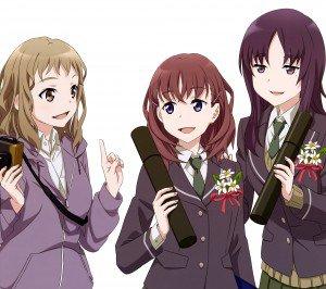 Just Because Ena Komiya Mio Natsume Hazuki Morikawa 2160x1920