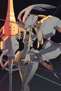 Darling in the Franxx Strelizia 640x960