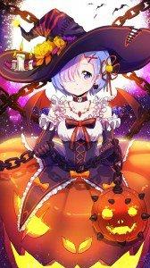 Halloween anime 720x1280