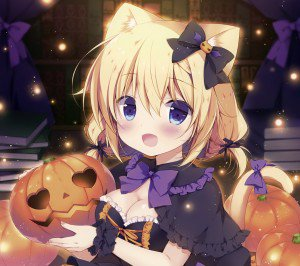 Halloween anime 2160x1920