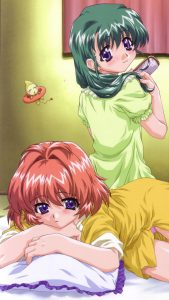 Onegai Twins Karen Onodera Miina Miyafuji 1080x1920