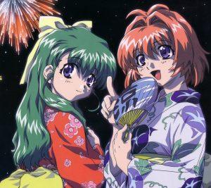 Onegai Twins Karen Onodera Miina Miyafuji 2160x1920