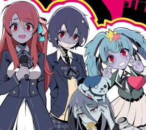 Zombie Land Saga Sakura Minamoto Ai Mizuno Lily Hoshikawa.Android wallpaper 2160x1920