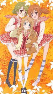 Strawberry Panic Kizuna Hyuga Remon Natsume Kagome Byakudan 2160x3840