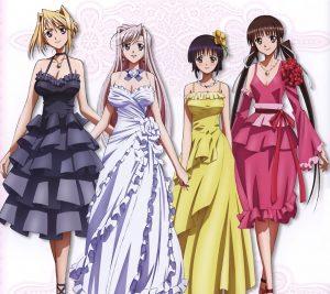 Princess Lover Charlotte Hazelrink Sylvia van Hossen Seika Houjouin Yu Fujikura 2160x1920