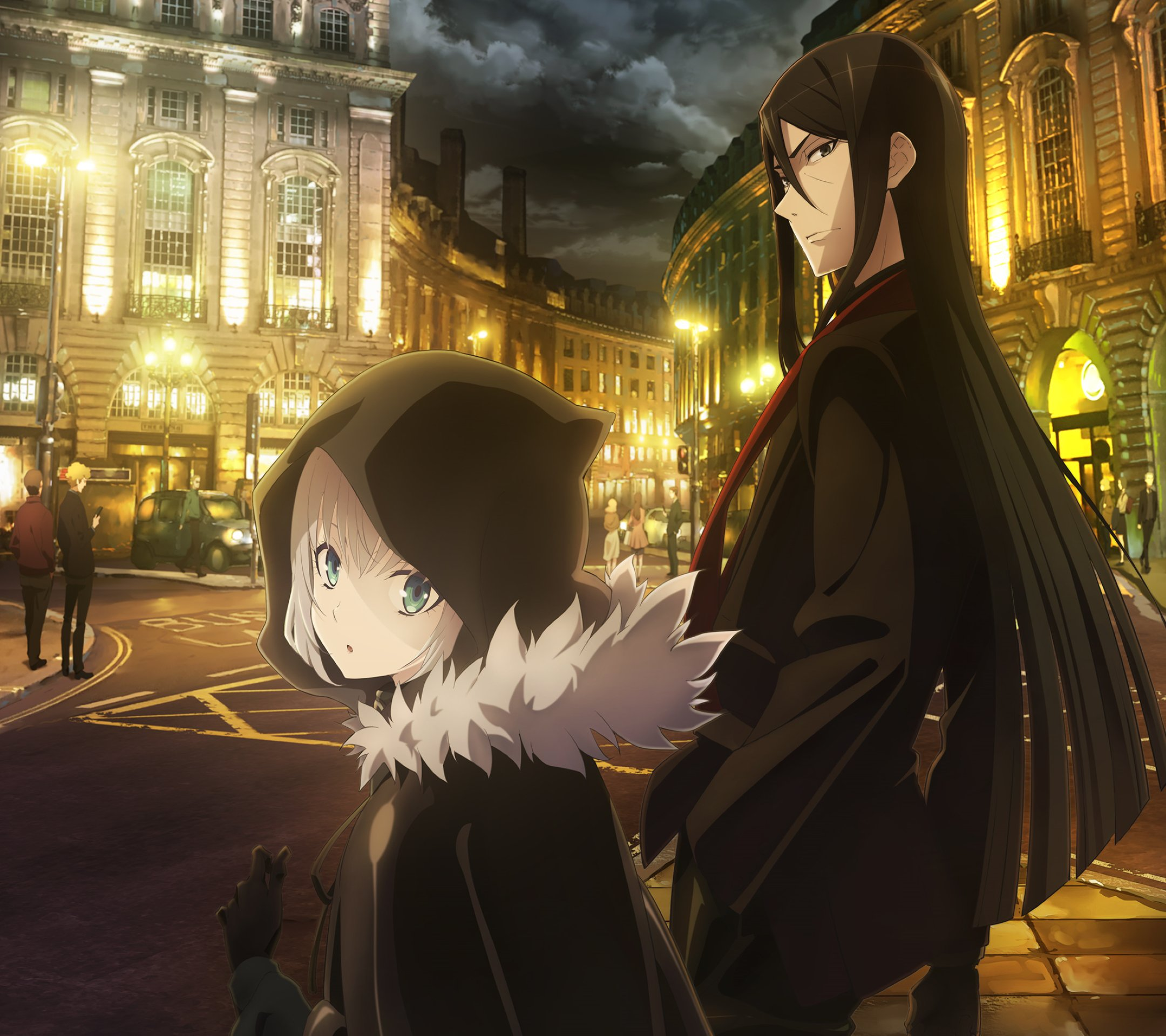 Case Files of Lord El-Melloi II Waver Velvet Gray 2160x1920
