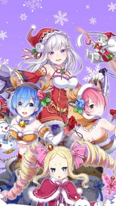 Christmas ReZero 1080x1920