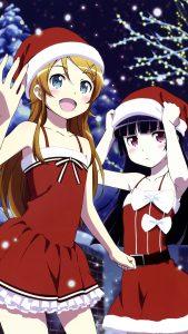 Christmas Ruri Goko Kirino Kosaka 2160x3840
