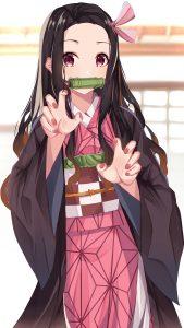 Kimetsu no Yaiba Nezuko Kamado 2160x3840