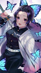 Kimetsu no Yaiba Shinobu Kochou 2160x3840