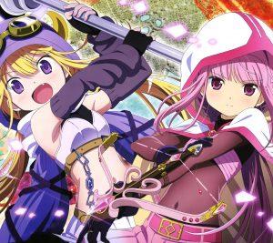 Magia Record Iroha Tamaki Felicia Mitsuki.Android wallpaper 2160x1920