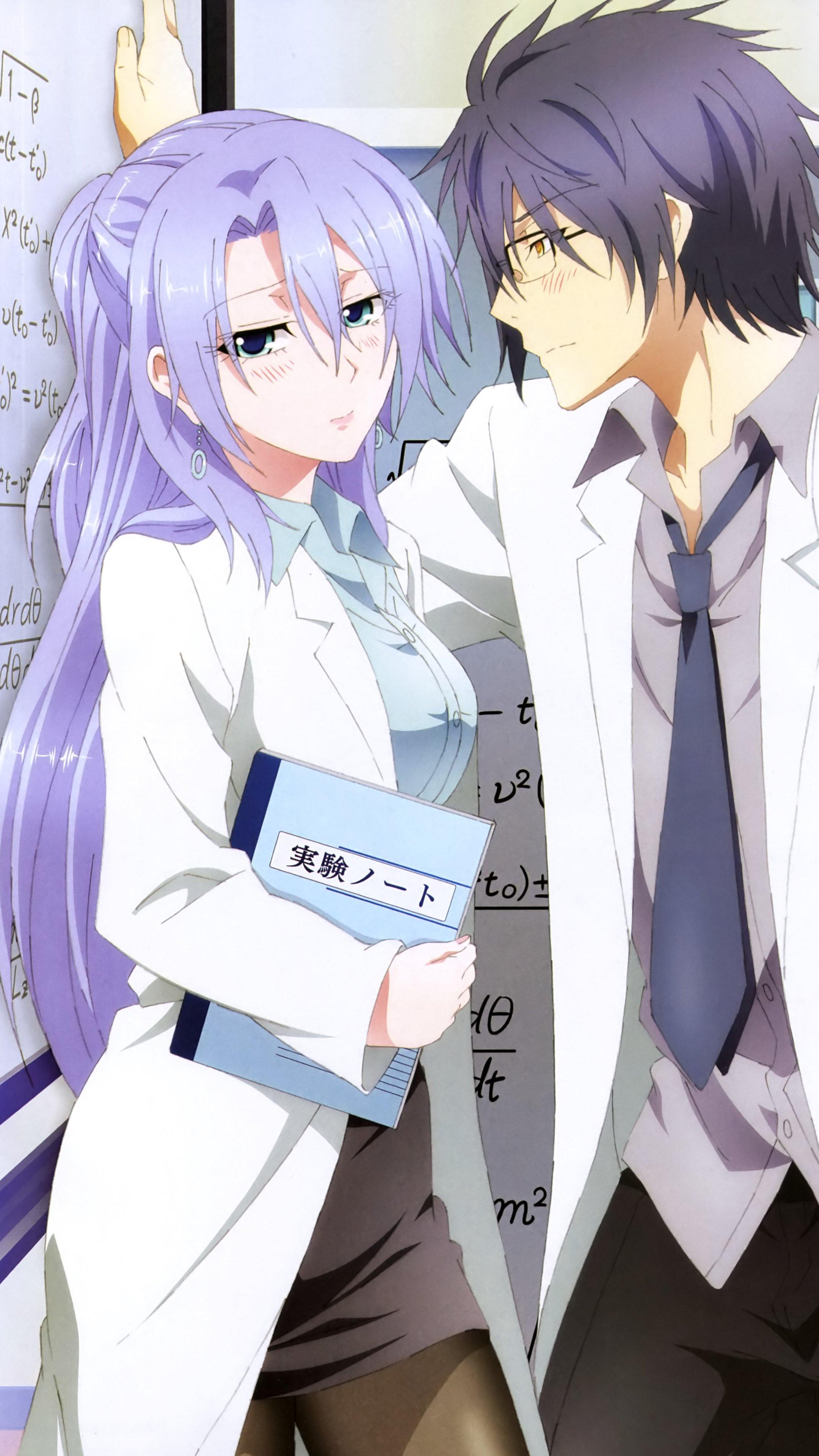 Rikei ga Koi ni Ochita no de Shoumei shitemita Shinya Yukimura Ayame Himuro 2160x3840