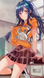 Jaku-chara Tomozaki-kun Minami Nanami 1440x2560 (2)