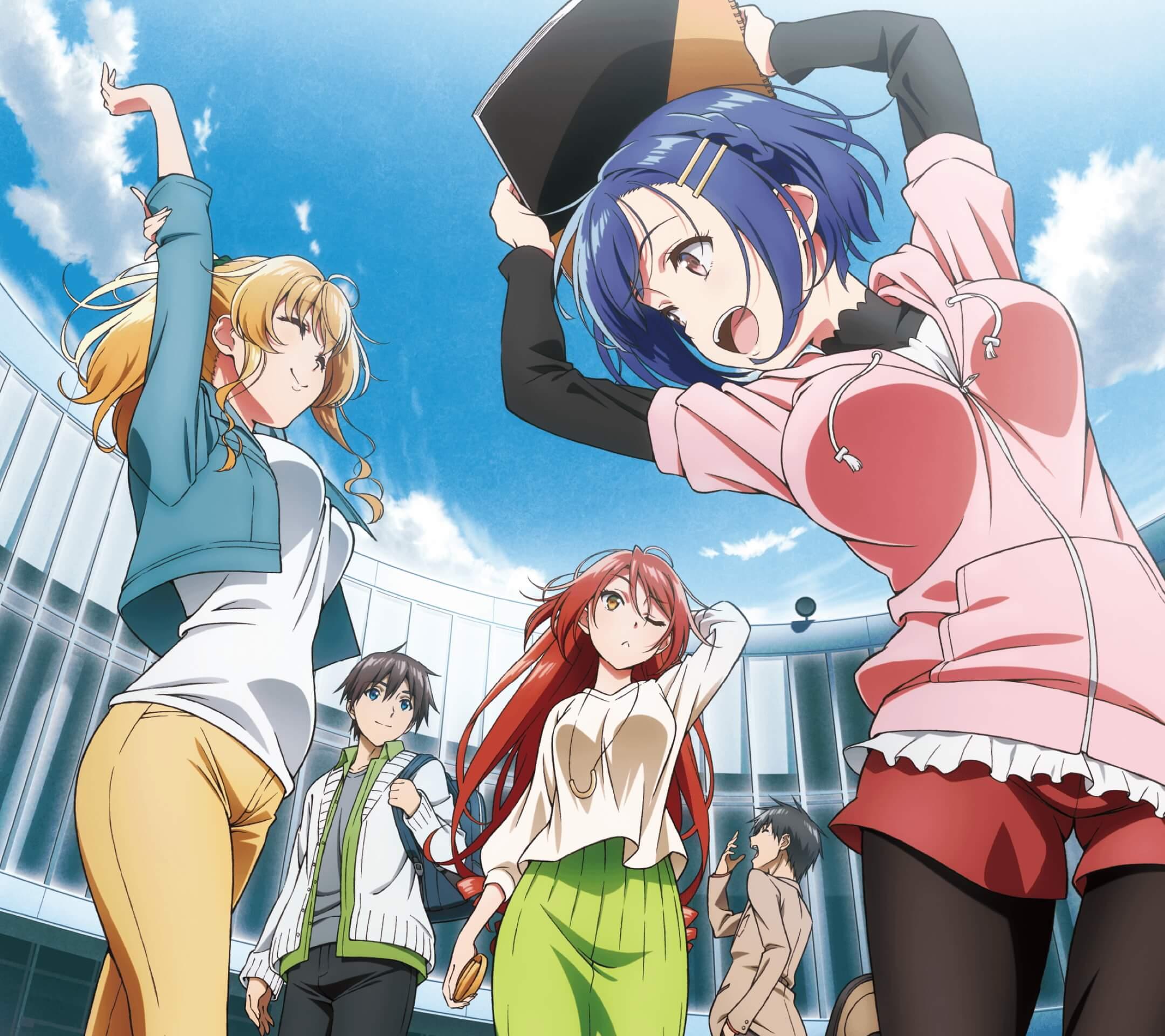 Bokutachi no Remake Aki Shino Nanako Kogure Eiko Kawasegawa.Android wallpaper 2160x1920